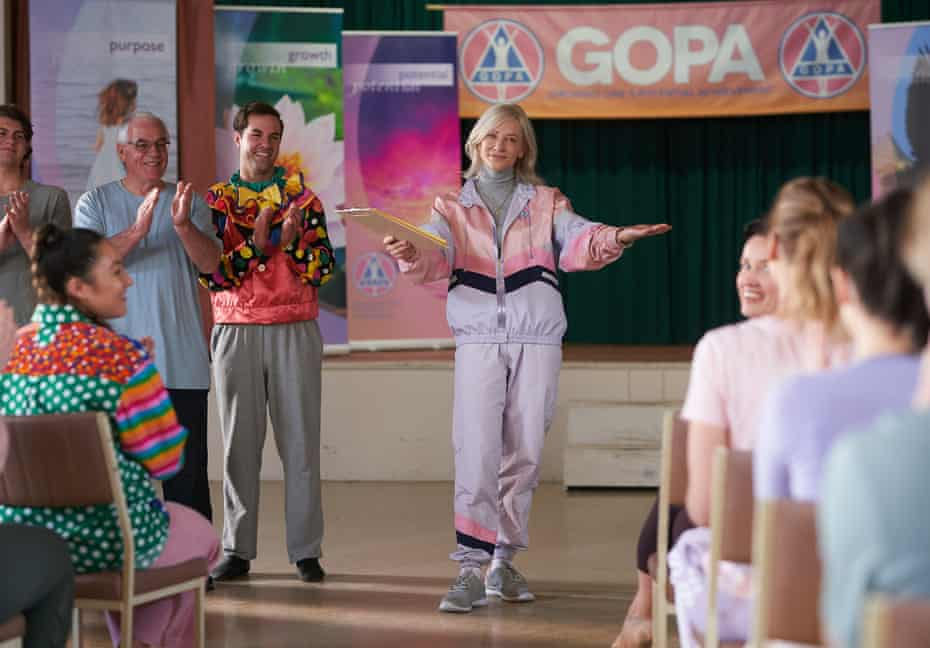 Cate Blanchett plays Pat, the leader of the GOPA cult into which Sophie (Strahovski) is drawn.