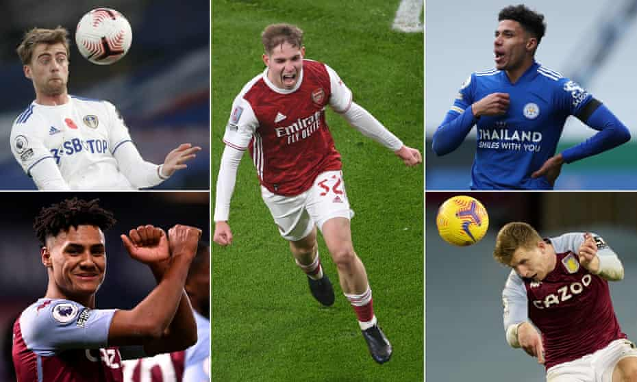 Some new faces who could make an impact for England.