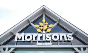 A Morrisons store is pictured in St Albans, Britain.