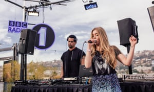 MK and Becky Hill