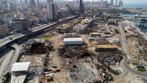 In December Lebanon's acting prime minister and three former ministers were charged in connection with the port blast.