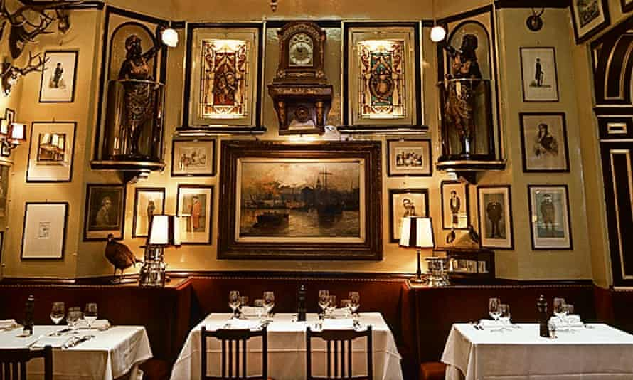 Photograph of Rules restaurant