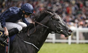 Caravaggio ridden by Ryan Moore wins the Commonwealth Cup.