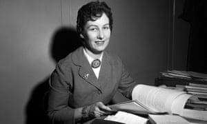 Margaret Anstee in Montevideo, Uruguay, for the United Nations in 1958.