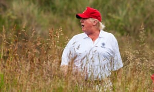 A new book on Donald Trump explores his behaviour on the golf course