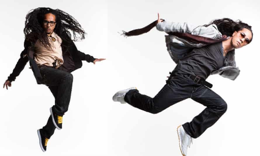 choreographers Anthony and Richmond Talauega, AKA Rich+Tone