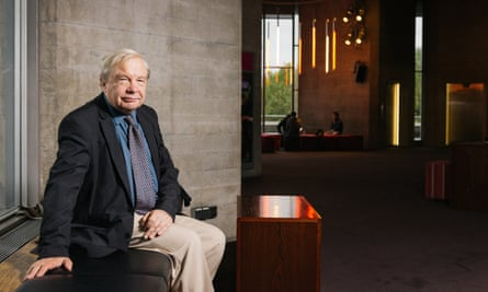 """""""A critic's review is just the opening salvo. It's not the end of the debate, it's the start and it always has been"""" Michael Billington at the National Theatre, London, 5 October 2015."""