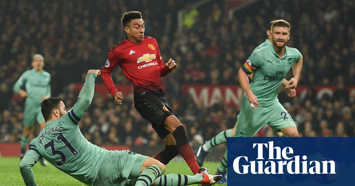 58f3f3180 Lingard earns point for Manchester United after De Gea hands Arsenal ...