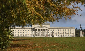 The grounds of the Stormont estate in Belfast, Northern Ireland