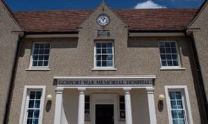 Gosport War Memorial Hospital, where hundreds had their lives shortened.