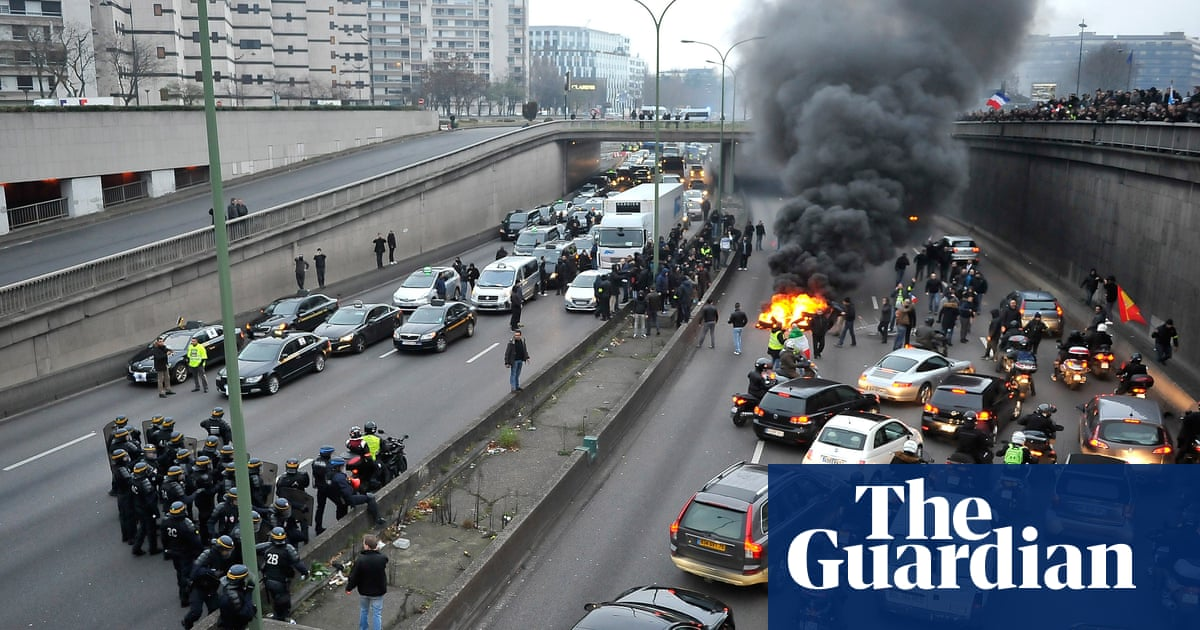 France Hit By Day Of Protest As Security Forces Fire