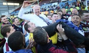 Burnley's Sean Dyche