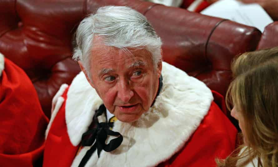 David Steel in the House of Lords