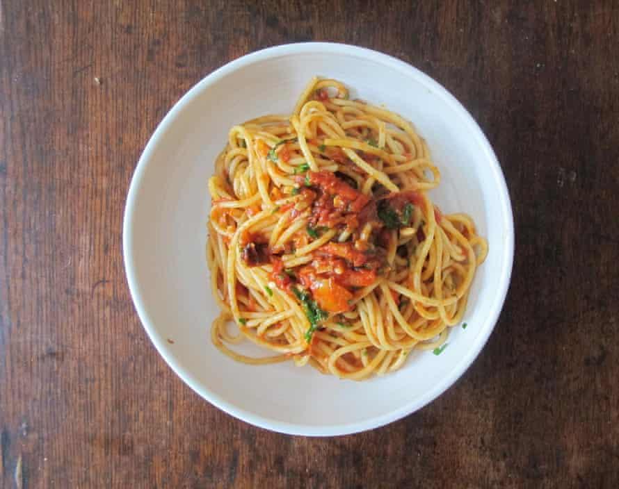 Jamie Oliver's pasta all'arrabbiata