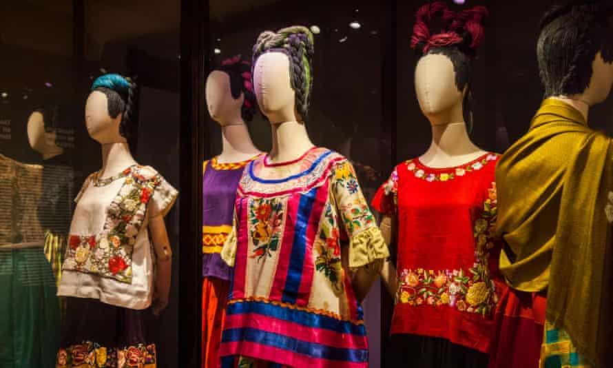 Frida Kahlo's clothes on display