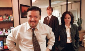Ricky Gervais in The Office.