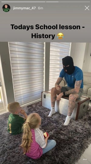 James McClean posted this on Instagram.