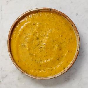 Alastair Little's pumpkin and Thai spice soup
