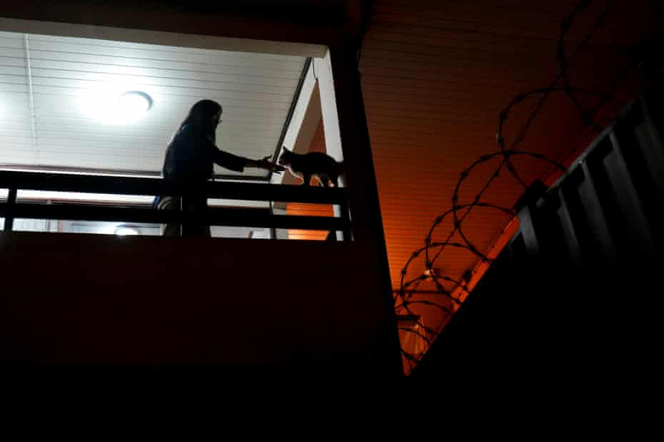 Zoilamerica Ortega Murillo, 51, the daughter of the presidential couple, who accused President Ortega of sexual abuse in 1998, at her home in San José.