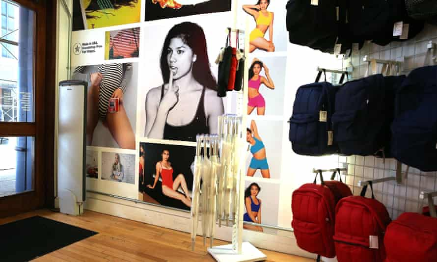 An American Apparel store in New York City