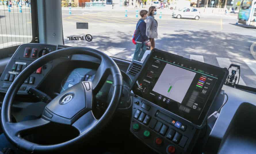 Malaga driverless bus
