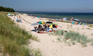 Lyckesand beach, Boda, Northern Oland, Oland, Southeast Sweden