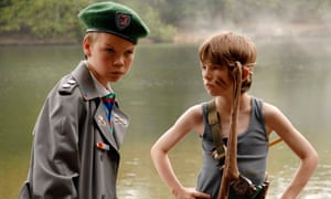 Poulter, left, with Bill Milner in Son of Rambow.