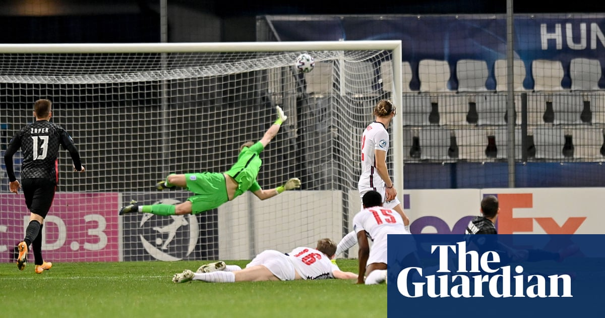 Croatia strike in stoppage time to send England out of Under-21 Euros