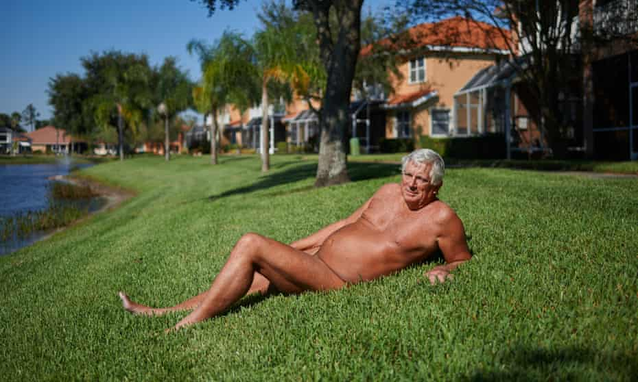 Rich Pasco outside his home at the Caliente Resort in Land O' Lakes, Florida