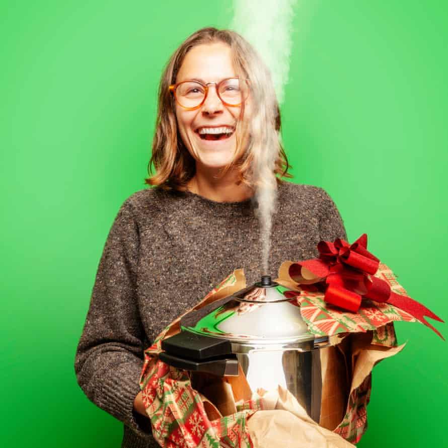 Anna Tobias, pressure cooker
