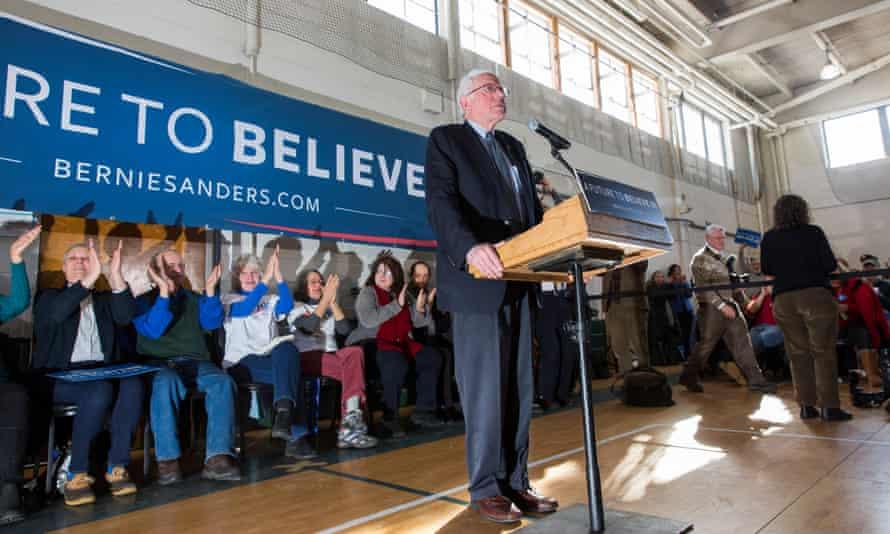 Bernie Sanders New Hampshire Hillary Clinton US election 2016