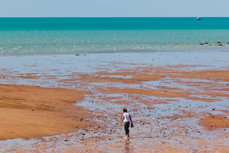 Roebuck Bay tidal flats near Broome, Western Australia.