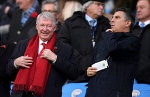 Sir Alex Ferguson is present.