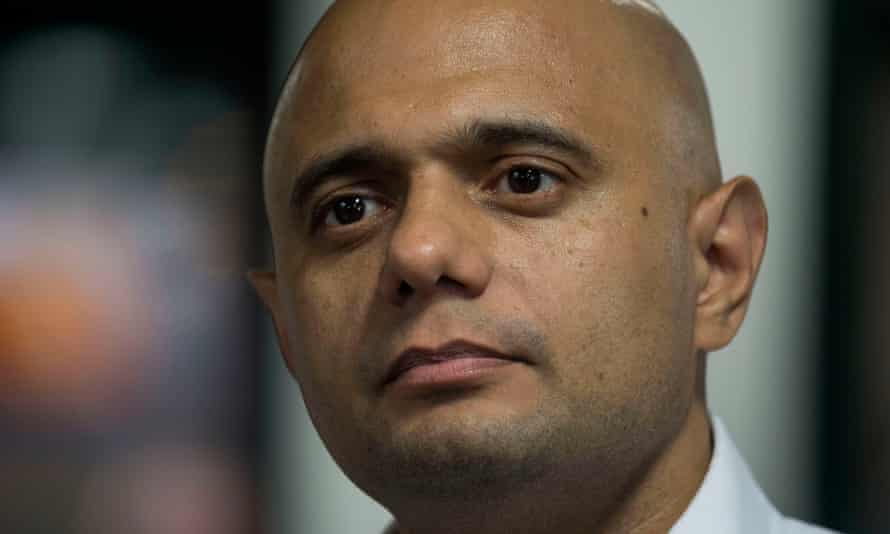 Sajid Javid: 'shifting the blame to the EU.'
