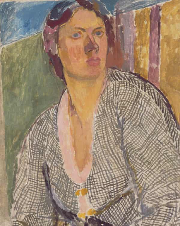 Vanessa Bell Self –Portrait (c1915).