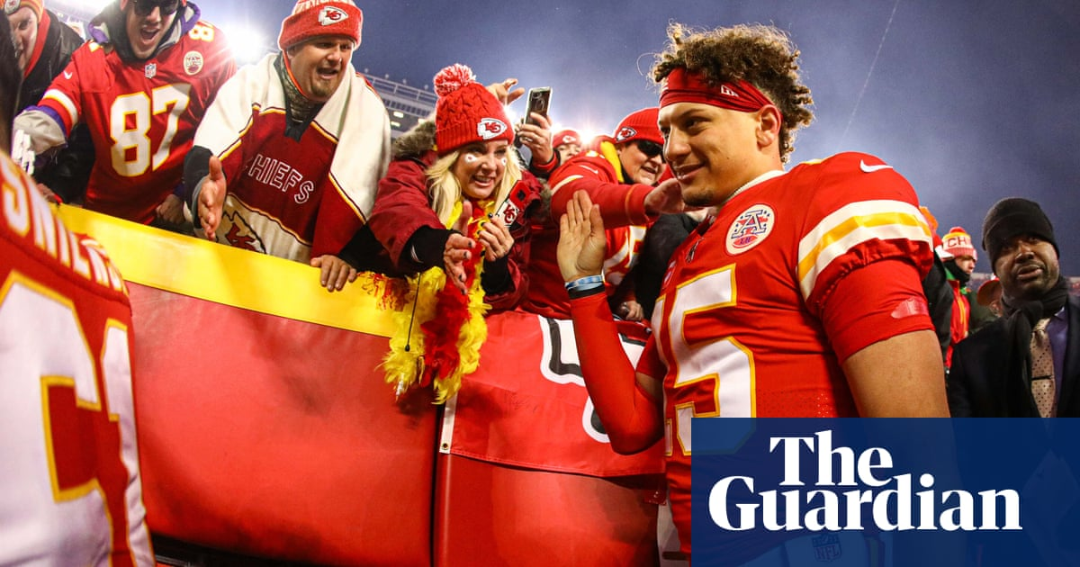 Stand back LeBron and Serena. Patrick Mahomes is the new face of US sports