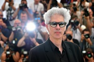Director Jim Jarmusch poses during a photocall for the film Paterson