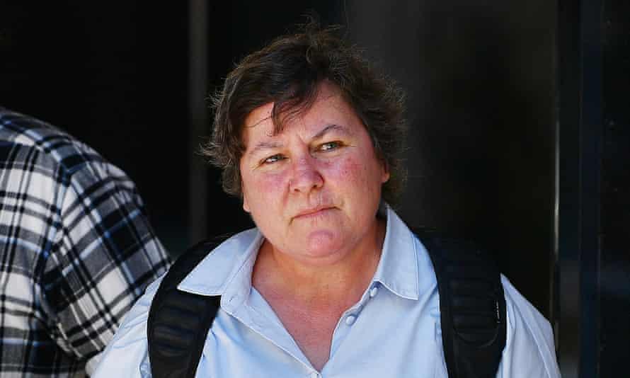 Caroline Andersen, the mother of Wayne Fella Morrison