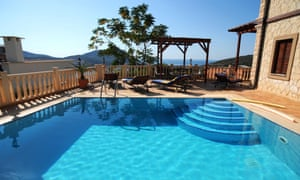 Villa with pool in Kalkan, Turkey