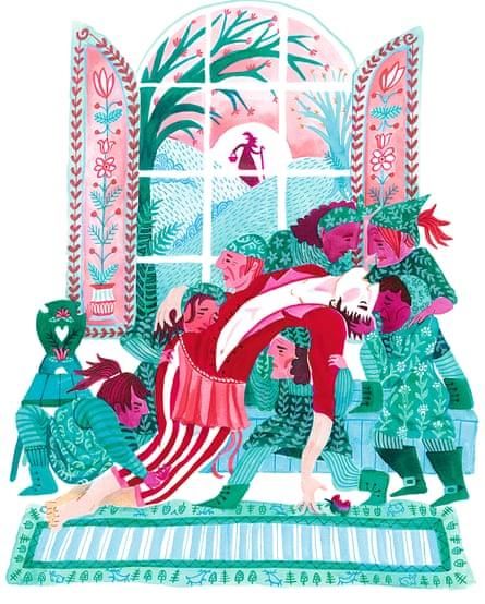 'Snowdrop' illustration by Karrie Fransman
