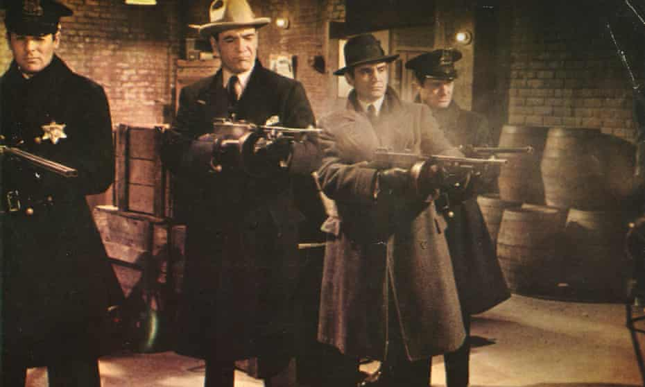 A still from the film The St Valentine's Day Massacre, released in the US in 1967.