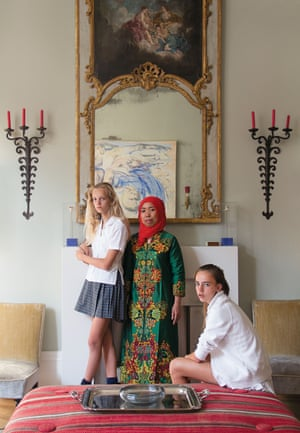 Ties by Alexandra Adami These Catholic girls are pictured with their much-loved Muslim nanny. I wanted to show the close bond between them despite their difference in age and ethnicity