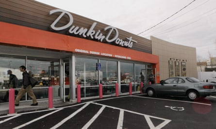 The first Dunkin' Donuts location in Quincy, Massachusetts.