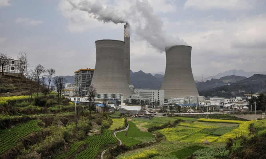 A state-owned coal fired power plant in southern China.