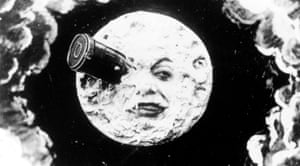 Still image from Le Voyage dans la Lune by Georges Méliès, which will be screened as part of the London Science Museum's moon-themed short film festival.