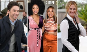 Zach Braff in Alex Inc, Jessica Williams and Phoebe Robinson aka 2 Dope Queens and Julia Roberts, set to star in Homecoming.