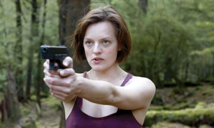 In Top of the Lake, Elisabeth Moss almost vibrates with tension.