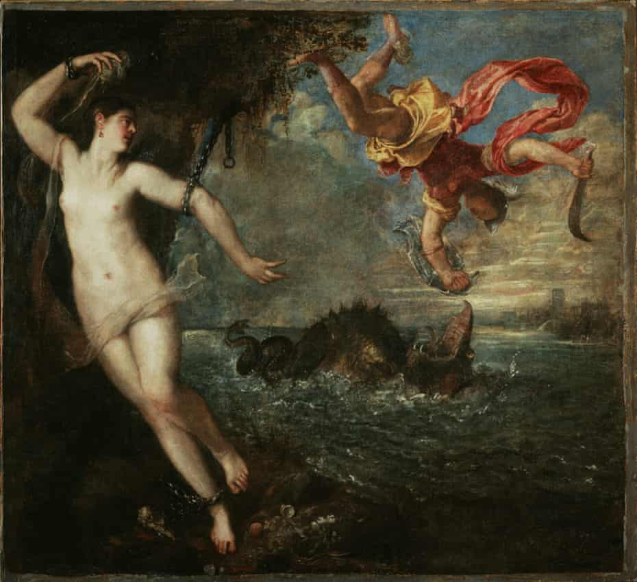 Titian's Perseus and Andromeda, probably 1554–1556