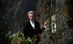 Tangled up in himself: Peter Capaldi as the Doctor