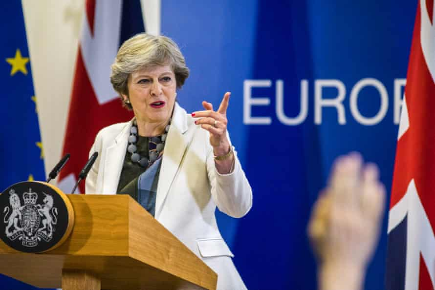 Theresa May had asked the EU to raise ambitions for the Brexit deal.